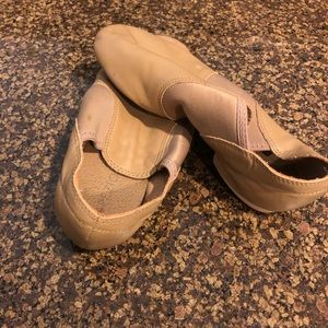 Nude dance shoes